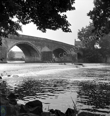 Fishing, River Wharfe, Harewood Bridge
